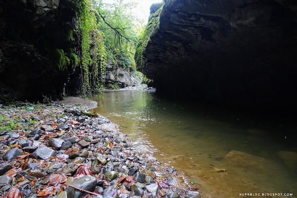 В каньоне реки Виляшчай