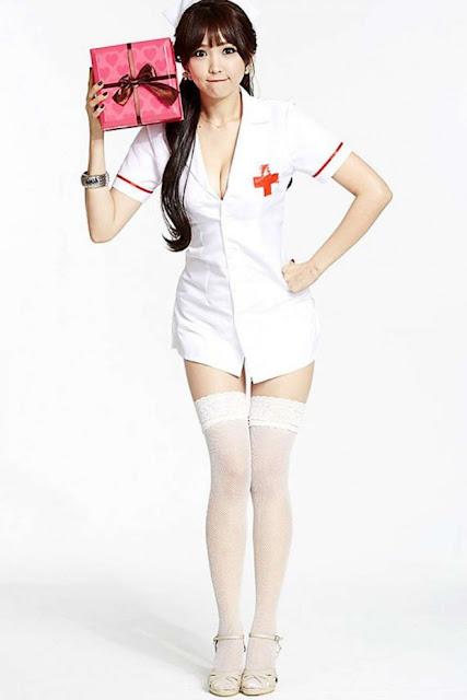 Lee Eun Hye 이은혜 In Sexy Nurse Outfits 6