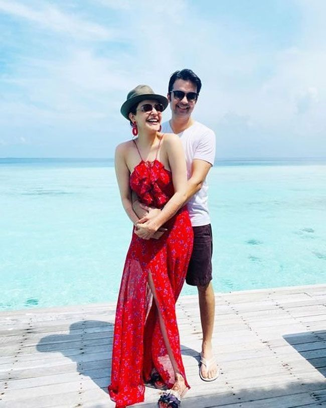 Celeb Honeymoon: Kajal Aggarwal And Gautam Latest Photos