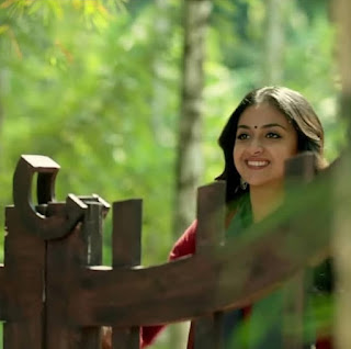 Keerthy Suresh in Maroon with Cute and Lovely Smile in Latest Ad 4