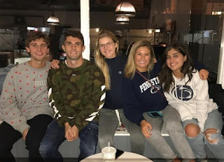 Christian Pulisic with his friends