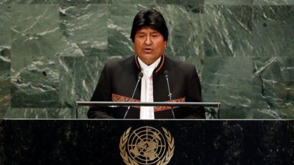 Evo Morales: La raíz de los problemas está en el sistema capitalista