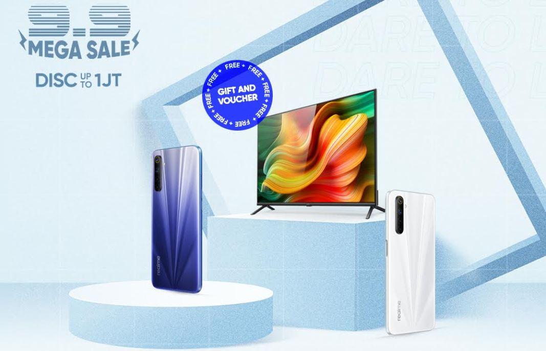 Realme Siapkan 9.9 Mega Sale, Diskon Hingga Rp 1 Juta!
