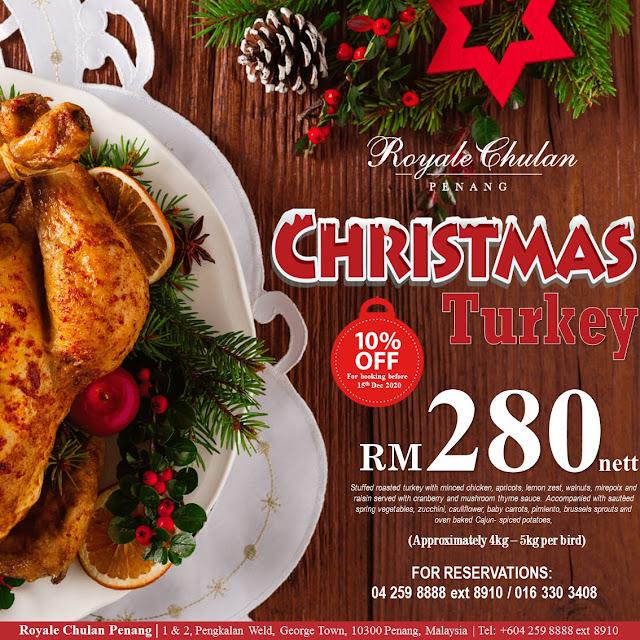Christmas New Year's Eve Royale Chulan Penang Penang Blogger Influencer Malaysia Blogger