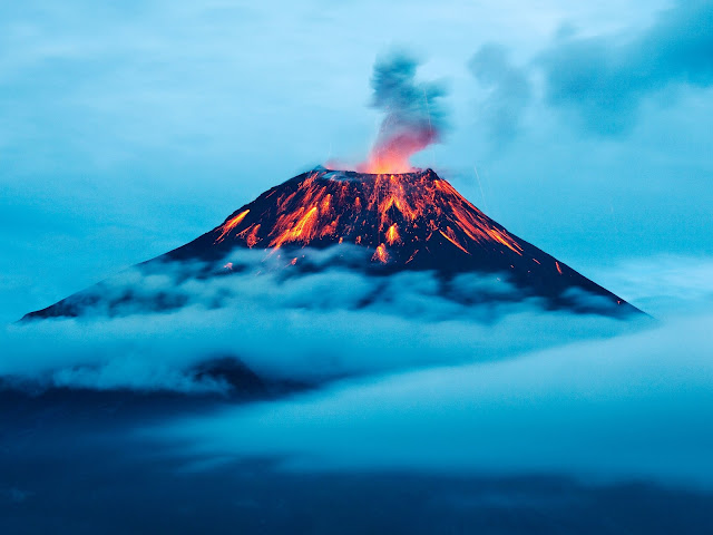 Tungurahua Volcano Eruption