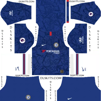Download Kit DLS Chelsea Home 2019 - 2020