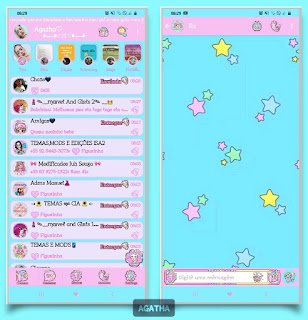 Star Theme For YOWhatsApp & Fouad WhatsApp By Agatha