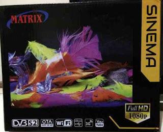 Update Sw Matrix Sinema HD Fix Sony Ten