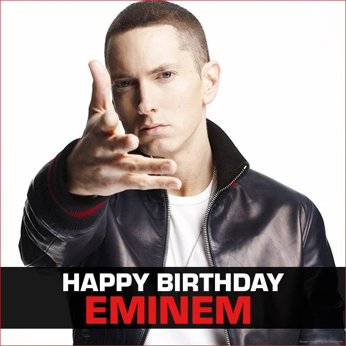 Eminem's Birthday Wishes Images
