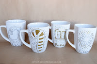 sharpie mug gift idea