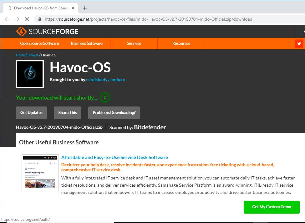 Havoc-OS Official Pie v2 7 ROM for Mido