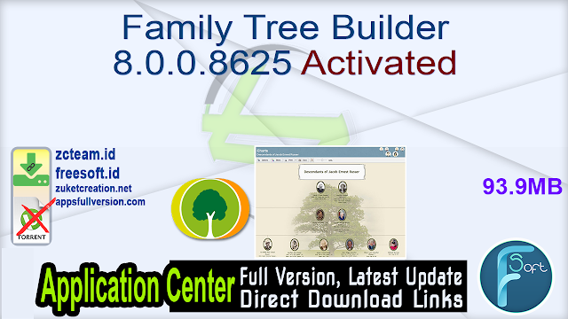 Family Tree Builder 8.0.0.8625 Activated_ ZcTeam.id