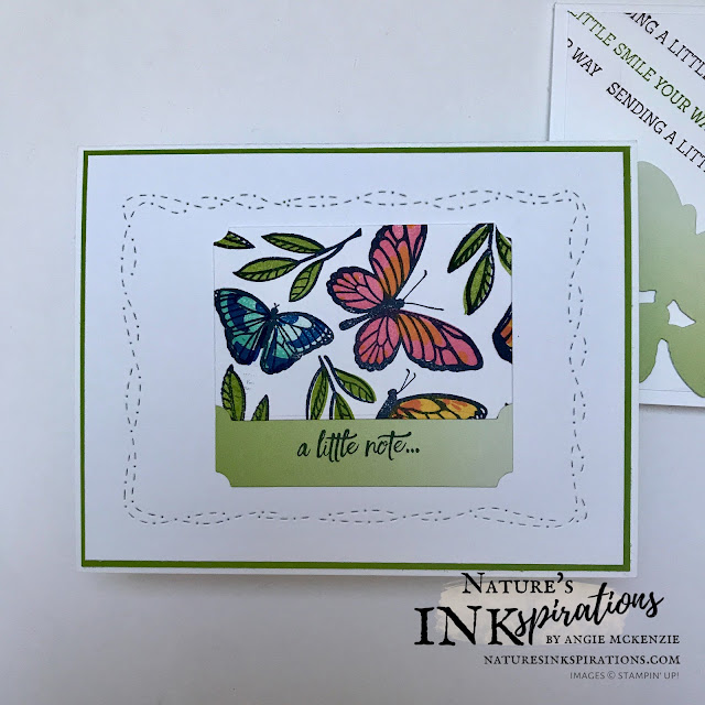 By Angie McKenzie for the Third Thursdays Blog Hop; Click READ or VISIT to go to my blog for details! Featuring the Floating & Fluttering Bundle along with the Enjoy the Moment stamp set and Oh So Ombre DSP and Heal Your Heart stamp set both can be earned individually as Level 1 SAB rewards through the end of February 2021; these items from Stampin' Up! are great for creating quick handmade cards; #butterflies #naturesinkspirations #alloccasioncards #nature #floatingandflutteringbundle #healyourheartstampset #enjoythemomentstampset #ohsoombredsp #usingscraps #sympathycards #justanotecards #stampinup #basicwhitecardstock #makingotherssmileonecreationatatime