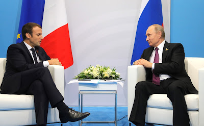 Meeting with President of France Emmanuel Macron.