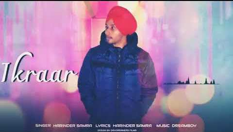 Ikraar Lyrics - Harinder Samra