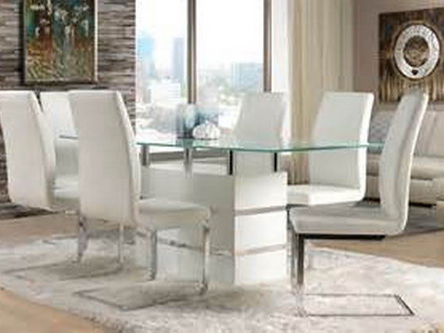 white wash dining room table