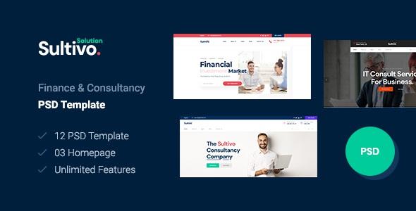 Best Finance PSD Template
