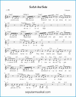 chord scotch and soda lagu jazz standar