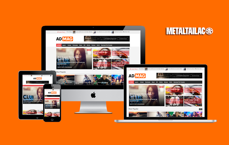 Ad Mag Responsive Blogger Template Premium Version - Responsive Blogger Template
