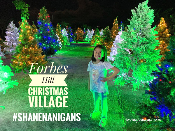 Christmas, Bacolod City, Christmas tree, Christmas tree lighting, Christmas tree village, Forbes Hill Christmas tree village, Forbes Hill Christmas tree park, Christmas Tree Park, Bacolod real estate, Megaworld Corporation, Philippines, happiness, family, family bonding, making memories, children, play area, Christmas play area - Shane - Shanenanigans