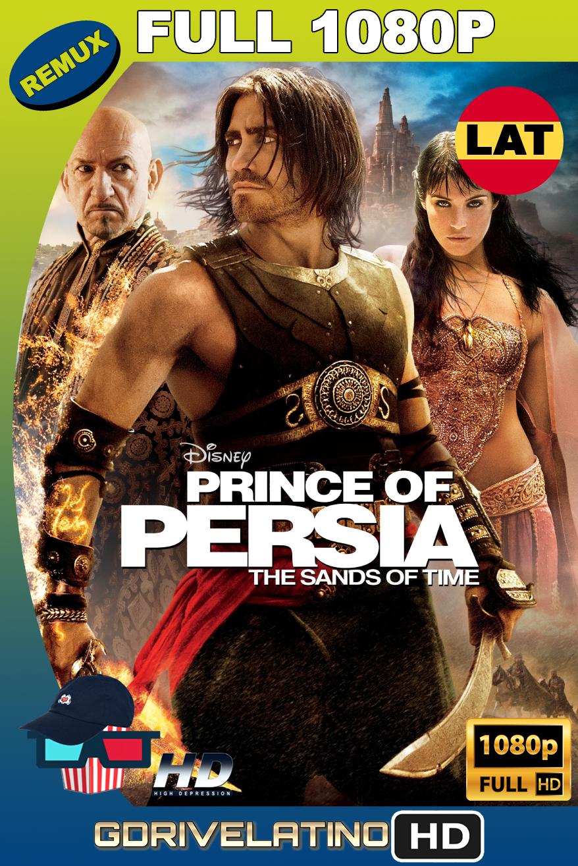 El Príncipe de Persia: Las Arenas del Tiempo (2010) BDRemux FULL 1080p Latino-Ingles MKV