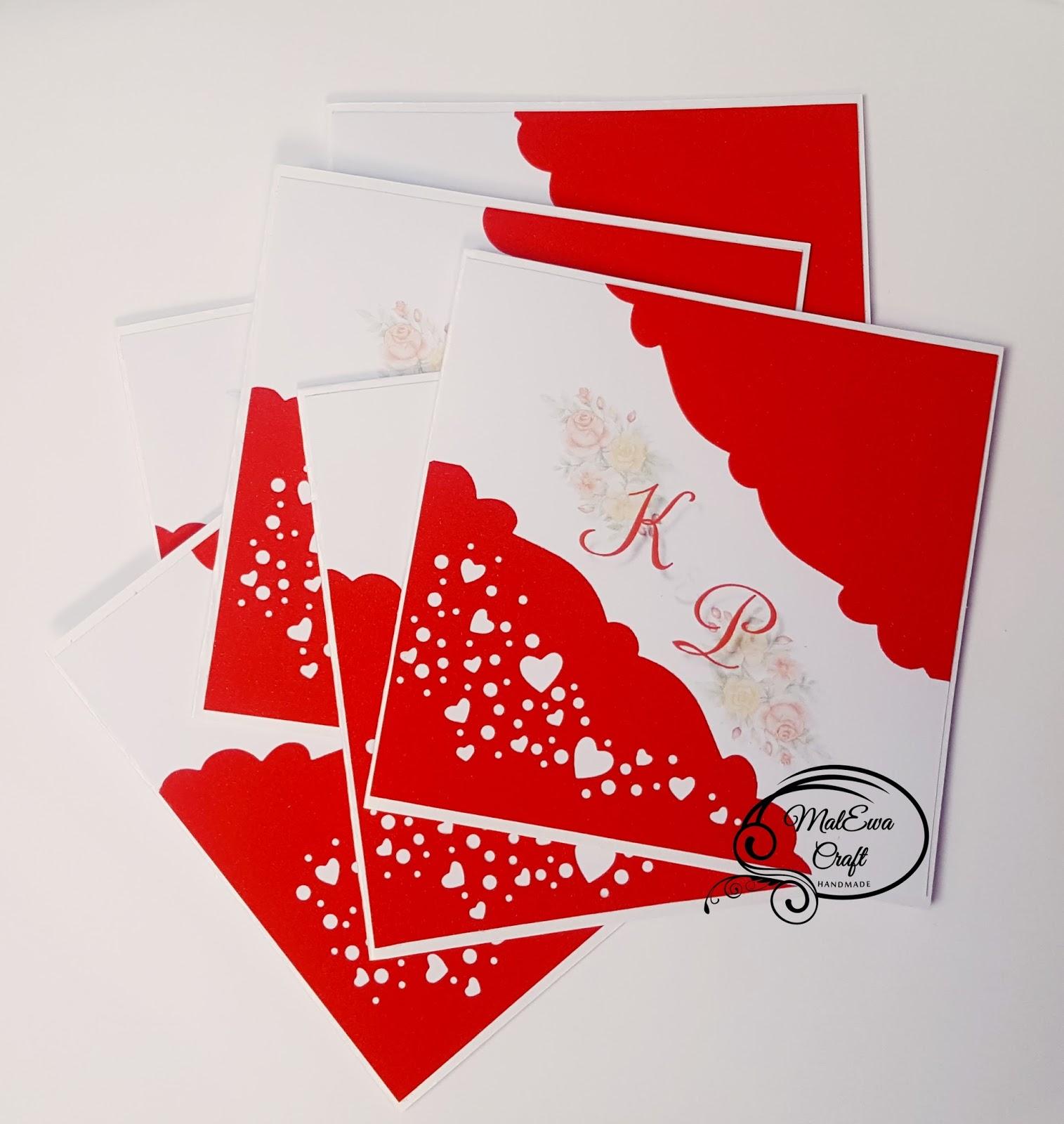 MalEwa Craft Handmade: Wedding invitations