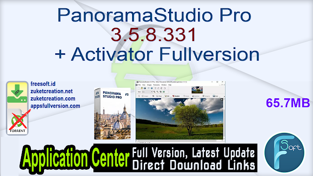 PanoramaStudio Pro 3.5.8.331 + Activator Fullversion