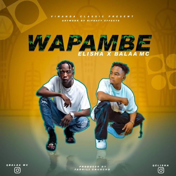 AUDIO | Elisha ft Mc Balaa - Wapambe | Download New song