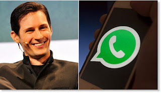 Telegram founder Pavel Durov warns to delete Whatsapp if you don't want to Photos, Videos and Messages to be Public