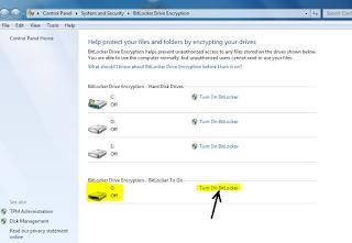 Cara Memberi Password Pada USB Flashdisk Tanpa  Aplikasi