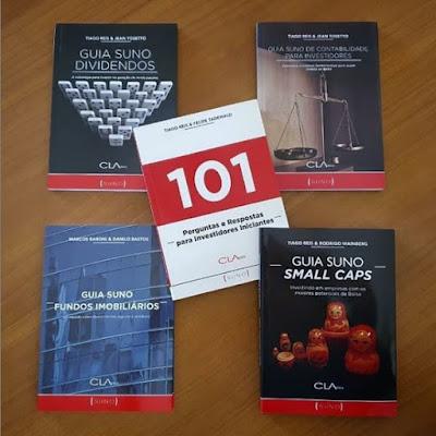 Cinco livros da Suno por apenas R$ 99 + frete!