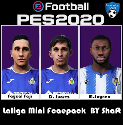 PES 2021 LaLiga Mini Facepack by Shaft