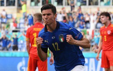 Italy 1:0 Wales, Rome