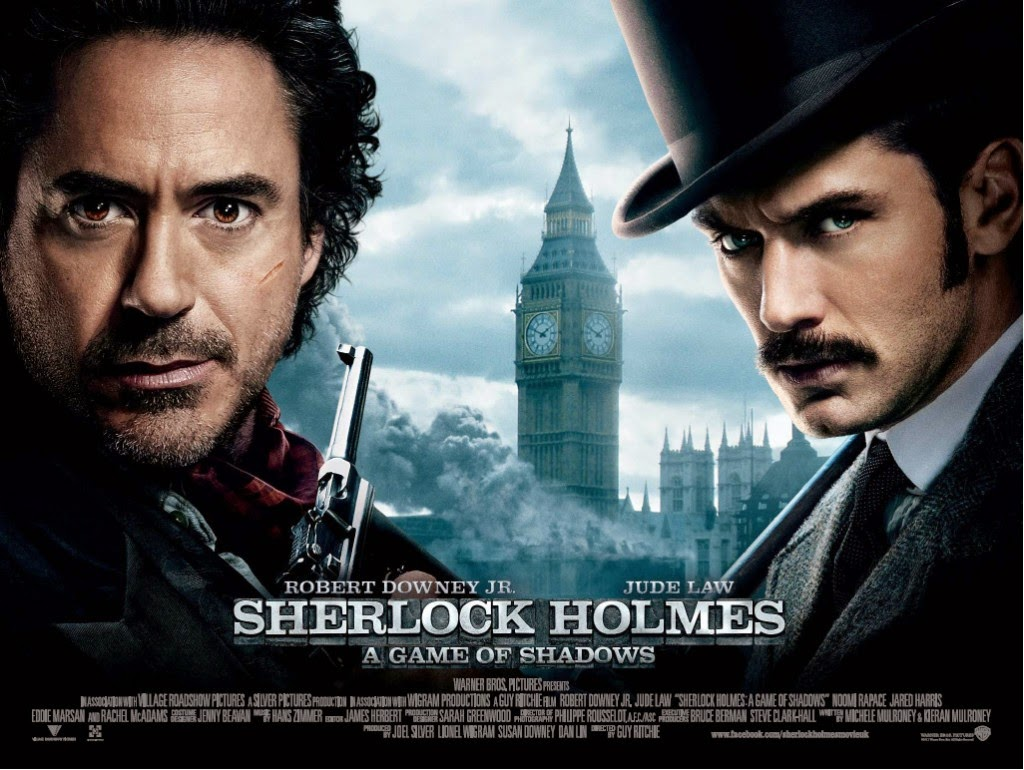 Movie and TV Screencaps: Sherlock Holmes: A Game Of ...