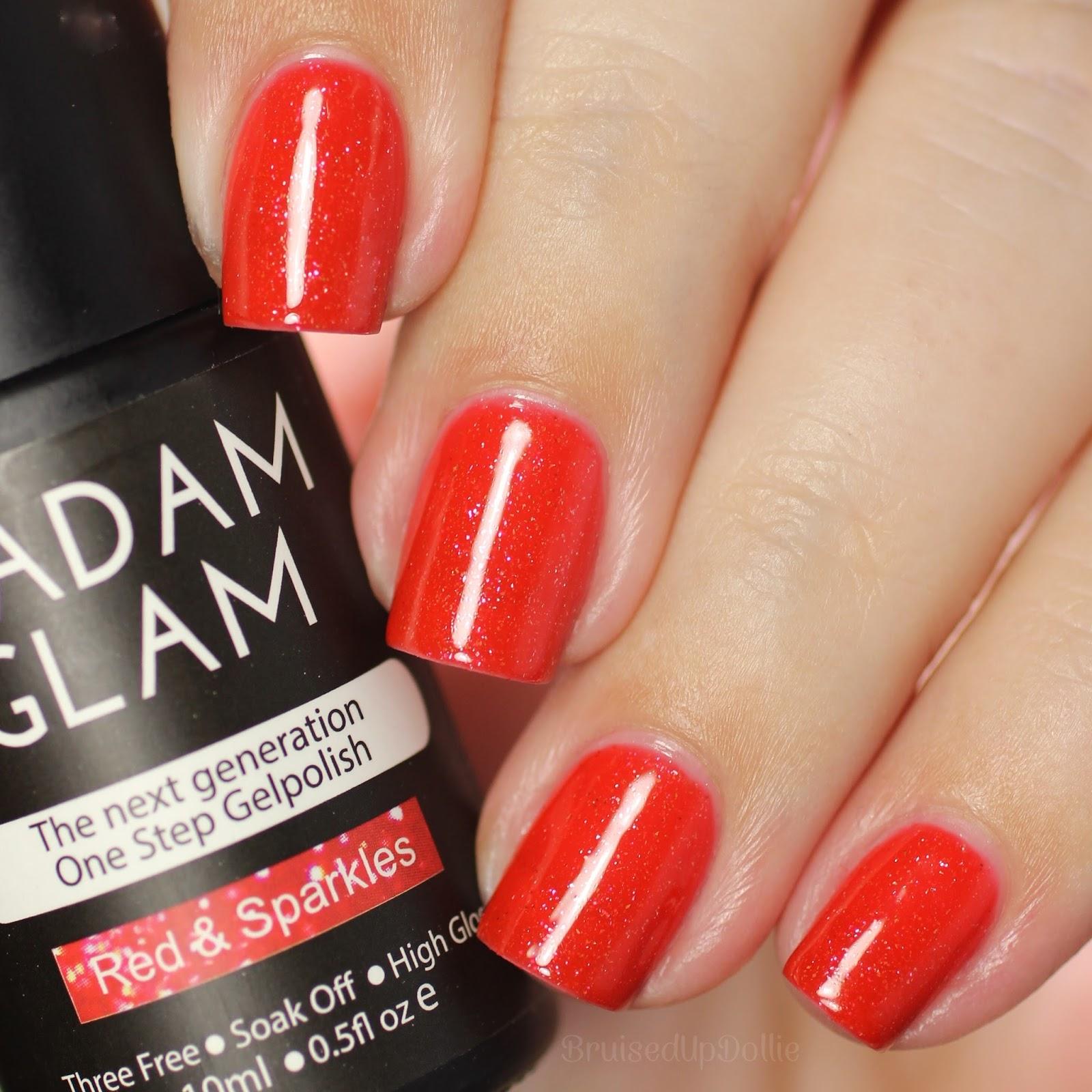 Madam Glam One Step Gel Swatches pt.2 - BruisedUpDollie Nails