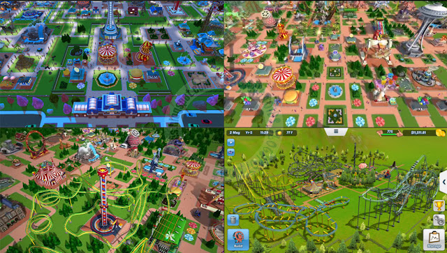 Rollercoaster tycoon touch apk data full Mod money