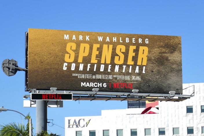 Spenser Confidential Netflix billboard