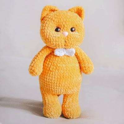 Плюшевый кот Персик