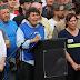 """Frente a la Casa Rosada, la CTA amenazó: """"O se cae este modelo económico o estos tipos dejan el gobierno"""""""