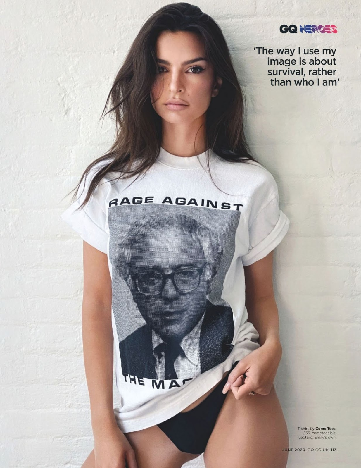 Emily Ratajkowski - GQ Magazine UK June 2020 Issue