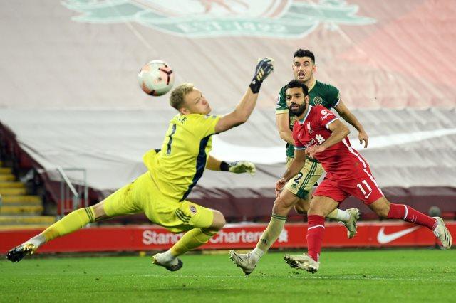 ملخص واهداف مباراة ليفربول وشيفيلد (2-1) الدوري الانجليزي