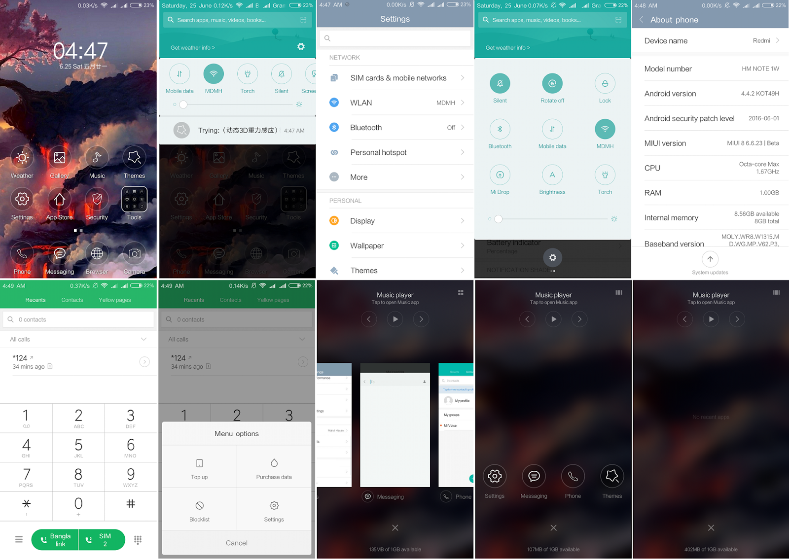 MIUI 8 Update ❂ Release Version 6 6 23 ❂ Free Download for MTK6592
