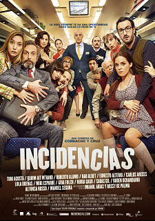 Cartel: Incidencias (2015)