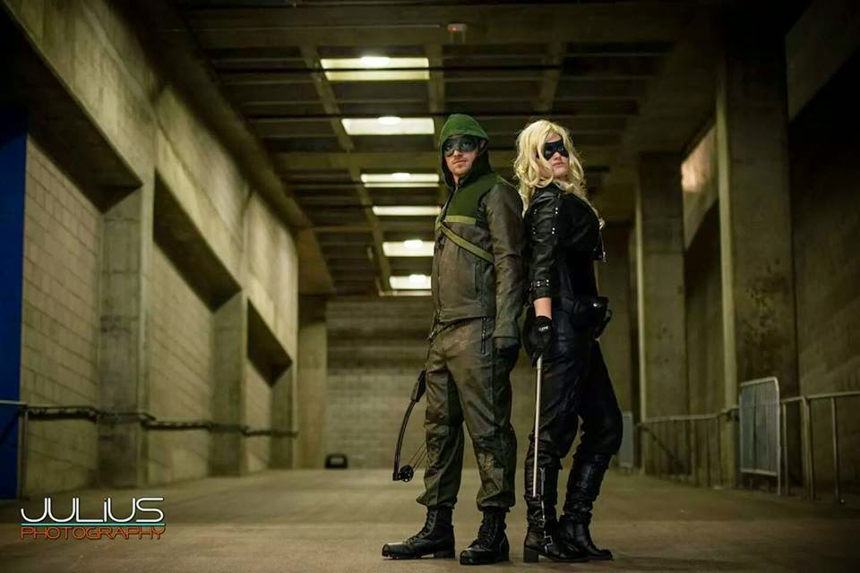 Roby Dee Cosplay - Black Canary and Green Arrow
