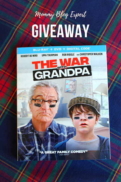 The War With Grandpa Bluray DVD Giveaway