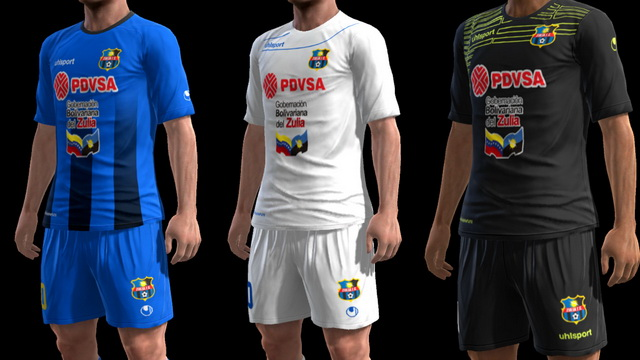 PES 2013 Zulia FC 2017 GDB by m4rcelo