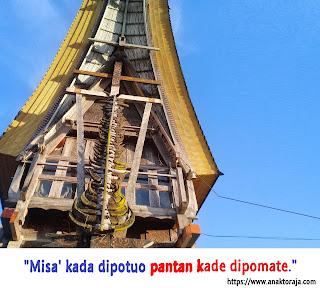 Kata bijak bahasa Toraja dan artinya