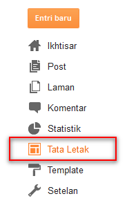 tambah Gadget>>>HTML/JavaScript