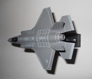 maqueta avion f-35