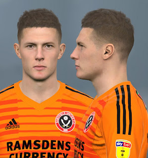 PES 2017 Faces Dean Henderson by Alief